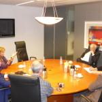 Tweemaandelijks overleg met toenmalig OM-baas Harm Brouwer